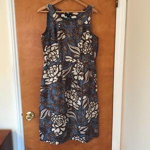 Boden Dress Silk Floral Dress